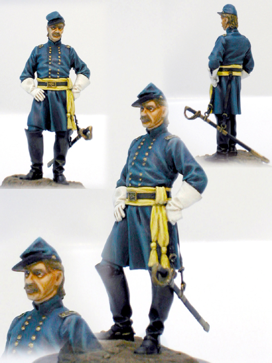 Union Officer 54mm