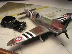 Free French Dewoitine D.520