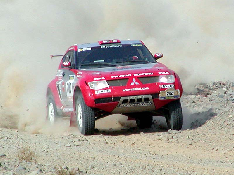 Rally Dakar 2003 photos Part II