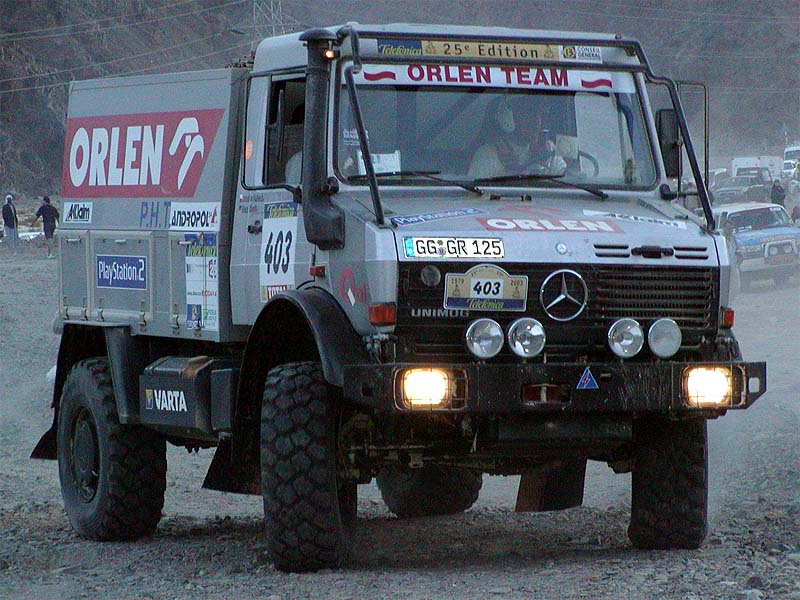 Rally Dakar 2003 photos Part IV