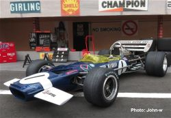 Lotus 49C (R10), Graham Hill, Monaco 1970, MFH 1/20