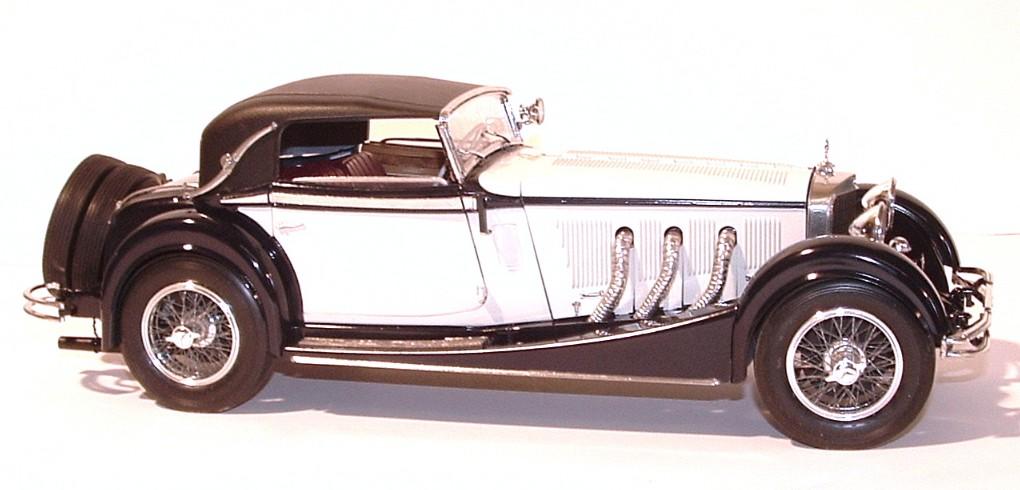 1928 mercedes benz ss cabriolet 1 16th for Mercedes benz ss