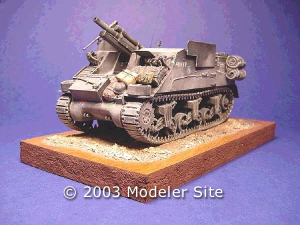 Italeri M7 Priest de 105mm