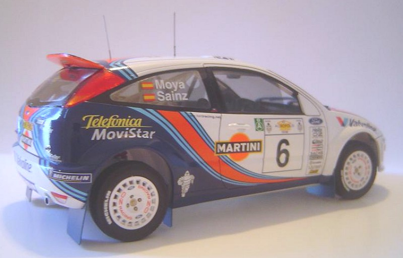 Ford Focus 2000- Acropolis rally winner